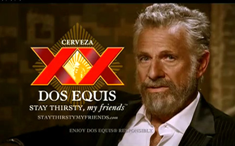 The Most Interesting Man in the World Commercial